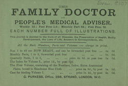 Advert for the Family Doctor & People's Medical Advisor